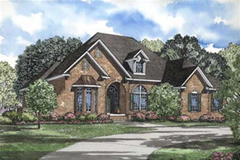 Traditional, French, European House Plans - Home Design