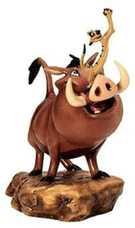 'Double Trouble' - Pumbaa and Timon figurine (WDCC) from