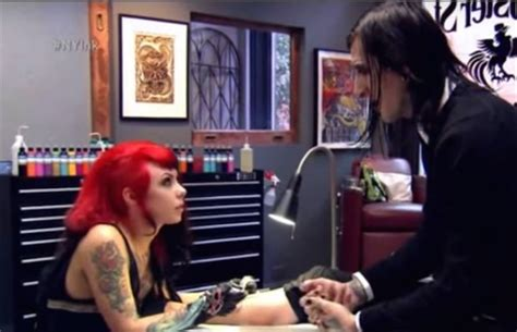 Remember watching Chris Motionless get tattooed on TV