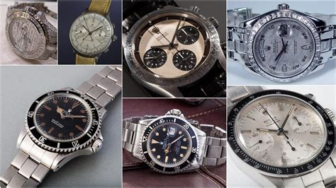 The most expensive Rolex watches ever sold (2018)