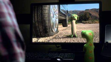 The GEICO Gecko Has a Flat Tire - with Andy Ben directed