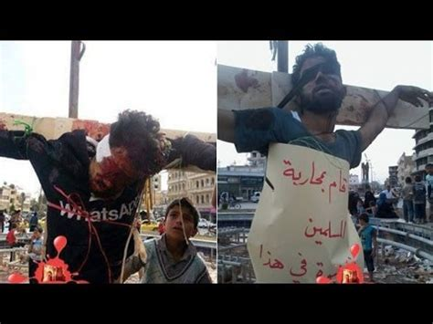 Urgent Christians executed by Crucifixion by Jihadists